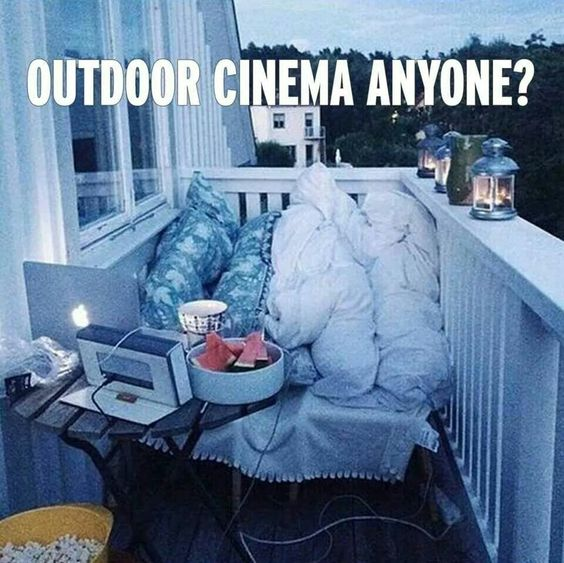 nights cute cute romantic outdoor cinema at home night ideas date