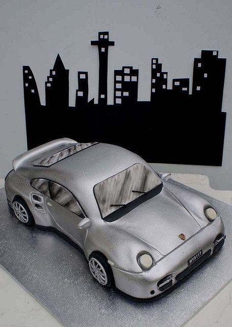 Porsche Cake by Verusca's Cake, via Flickr