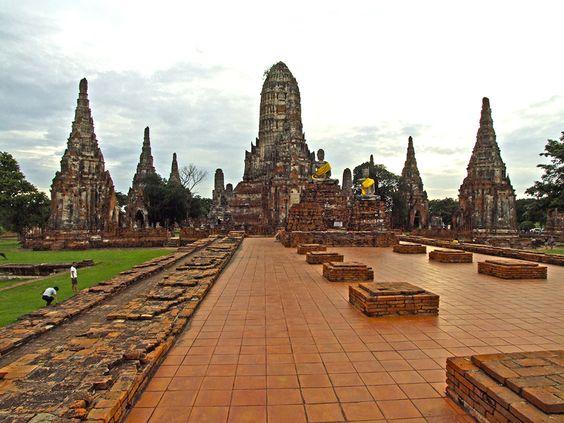 Wat Chaiwatthanaram -  Ayutthaya - Thailand
