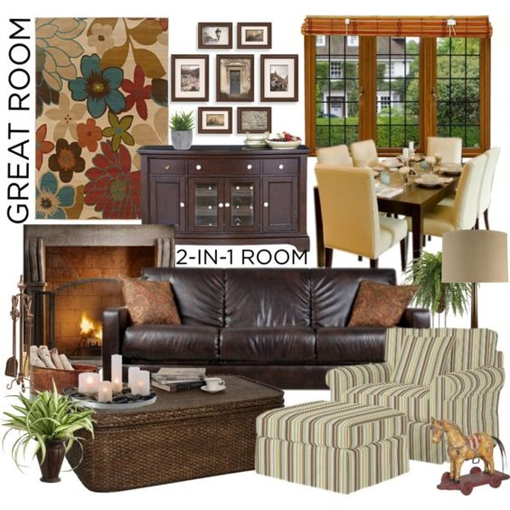 Living Room Decorating Ideas On A Budget Great Room Home Decor Pinteres