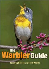 """The Warbler Guide by Tom Stephenson & Scott Whittle. On my (Christmas) wish list. The """"Quick Finders"""" are incredible and also downloadable without buying the book: http://blog.press.princeton.edu/2013/07/25/downloadable-warbler-guide-quick-finders/"""