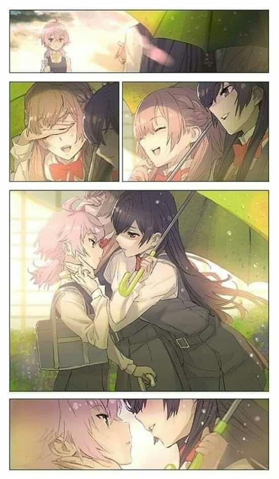 Beso Yuri Anime Anime Wallpaper Yuri Manga