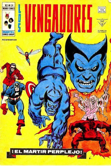 Los Vengadores V.2 nº 38