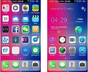 Vivo Themes Tema Ios Untuk Vivo Iphone App Iphone Aplikasi Ios
