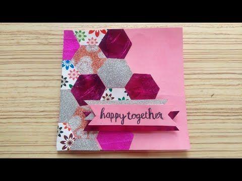Youtube Greeting Cards Handmade Happy Anniversary Cards Handmade Greetings