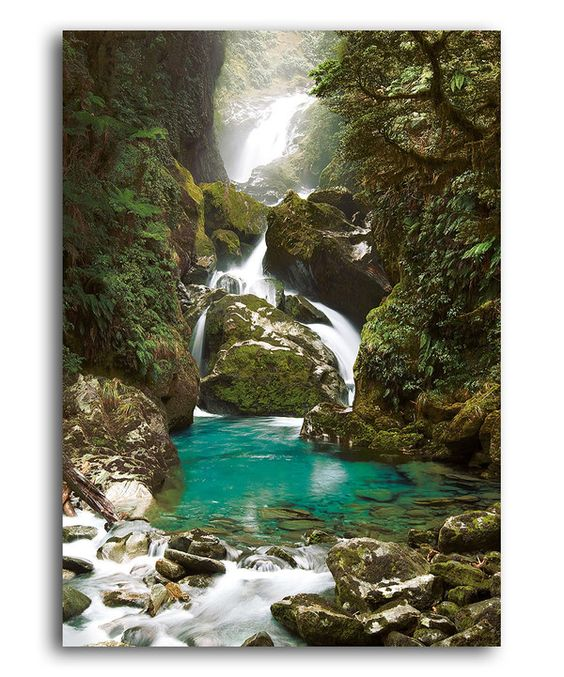 Take a look at this Mackay Falls, New Zealand Puzzle on zulily today!