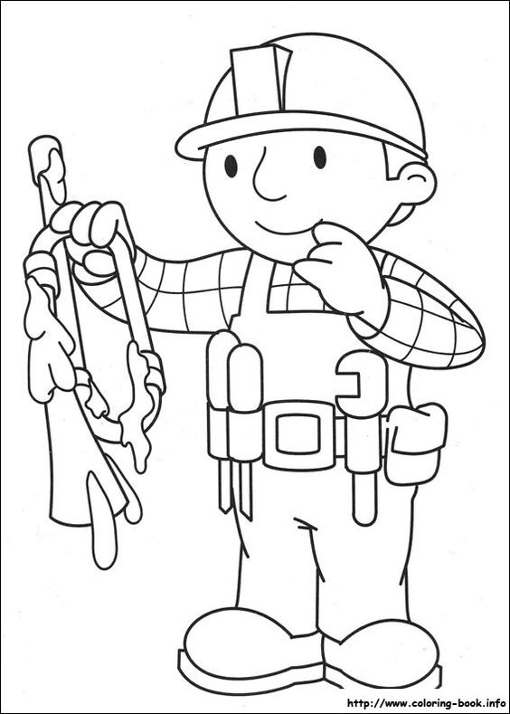 awesome bob-the-builder-83 coloring page | Mcoloring ...