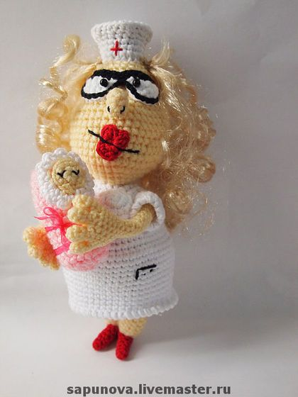 Amigurumi Nurse Pattern : Nurses, Crochet and Amigurumi on Pinterest