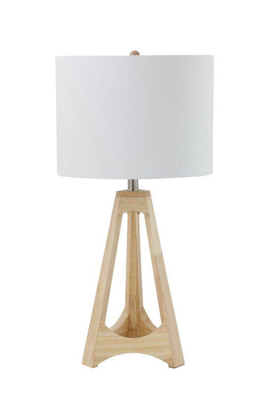 Brookston Wood 16 Table Lamp Allmodern Table Lamp Wood Lamp