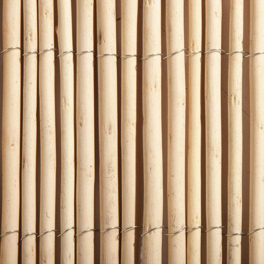 Canisse Osier Beige H 150 Cm X L 300 Cm Canisse Osier Canisse Bambou