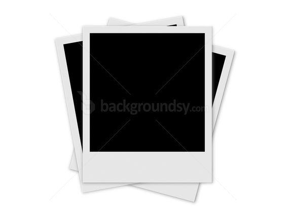 blank polaroid frame background puzzle frame template psd ...