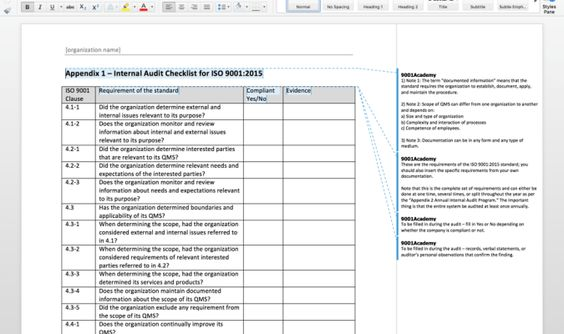 Internal Audit Report Template - Download this Internal Audit - audited accounts template