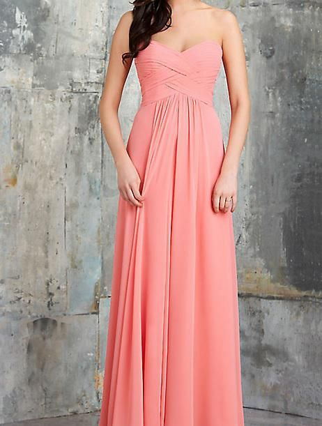 Criss Cross Bodice Bridesmaid Dress 620 A-Line Wedding Dresses | Buy Wholesale On Line Direct from China
