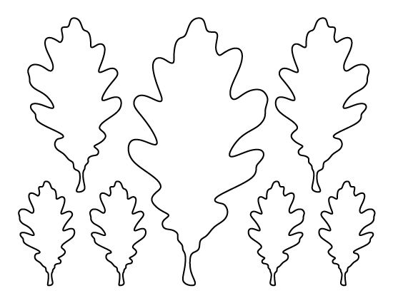 Fall leaves clip art black and white 5 Halloween costumes - leaf template
