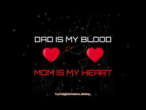 Mom Dad Spacial Whatsapp Status Mj Creation New Whatsapp