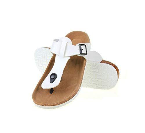 Eric Carl Womens Casual Fashion Flip Flops Beach Sandals Anti-Slip Slippers