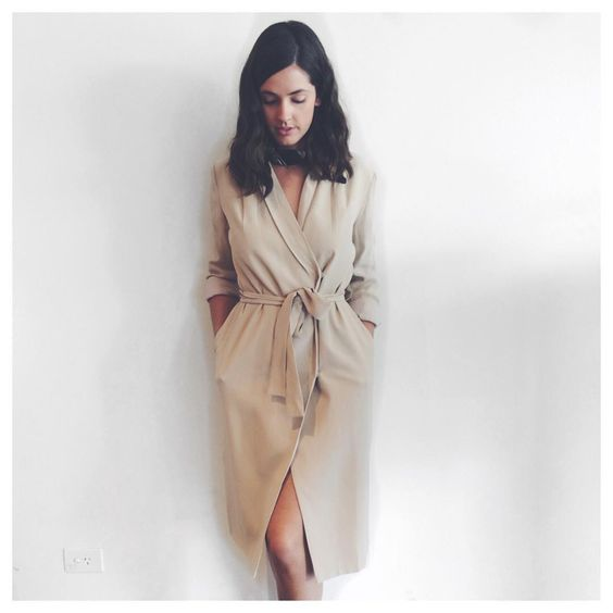"""〰 Trench dress 〰 Our birdie Em wears the new @tylr_aus Lucid Dress  thebirdcageboutique.com.au #trench #daywear #tan #Tylr #thebirdcageboutique"" http://bit.ly/1GTtlOr"