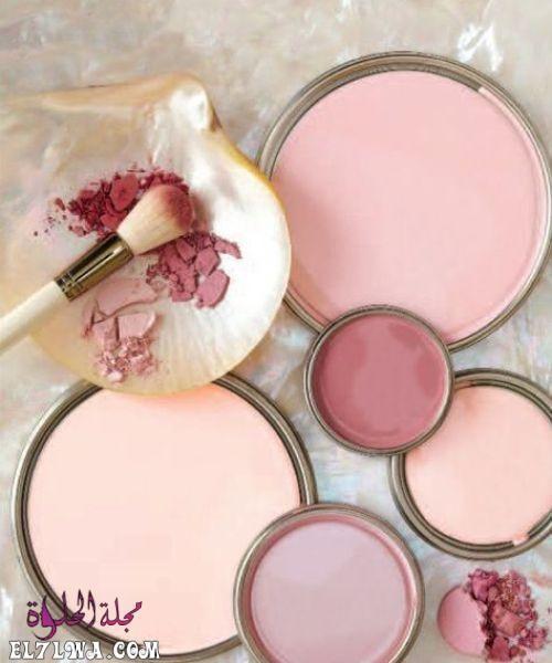 تتميز الوان دهانات حوائط 2021 بالتميز والتنوع الشديد من أجل أن ترضي جميع الأذواق وتتماشى مع طبيعة الاثاث سواء كا Blush Pink Paint Pink Paint Color Palette Pink
