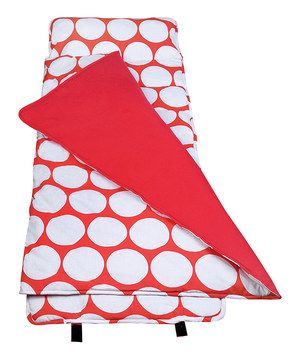 Love this Red & White Big Dot Original Nap Mat by Wildkin on #zulily! #zulilyfinds