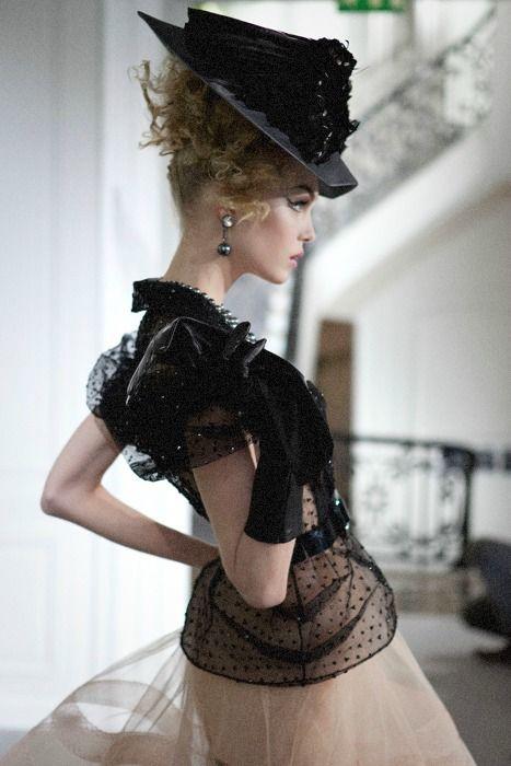 Siri Tollerød at Christian Dior Haute Couture f/w 2009
