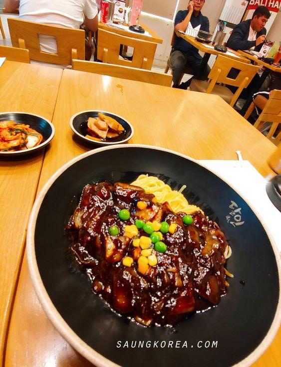 Jjajangmyeon Menu Darin Master of Noodle Korean Food (saungkorea.com)