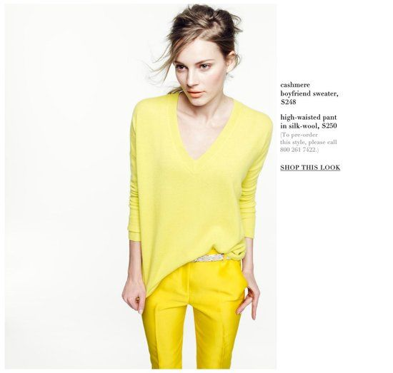 J.CREW COLLECTION SPRING 2012