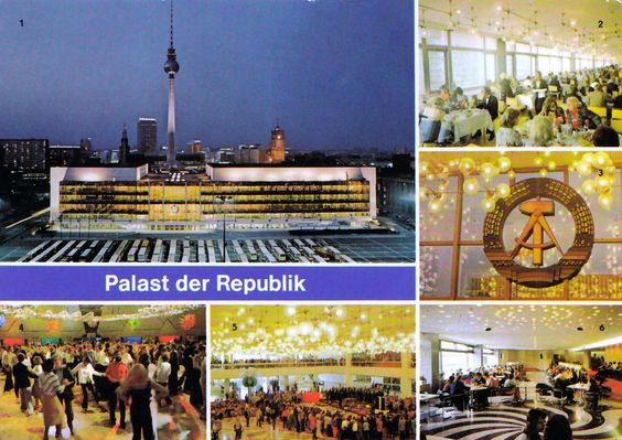 DDR. Palast der Republik