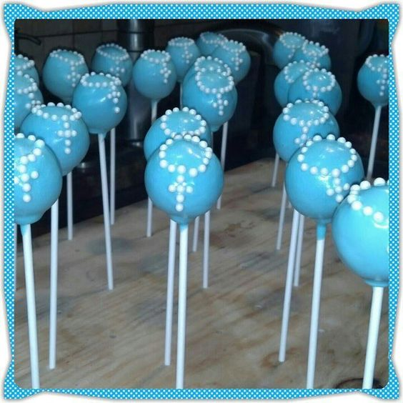 Cake Pops Ideas For Christening : Communion, Cake pop and Christening on Pinterest
