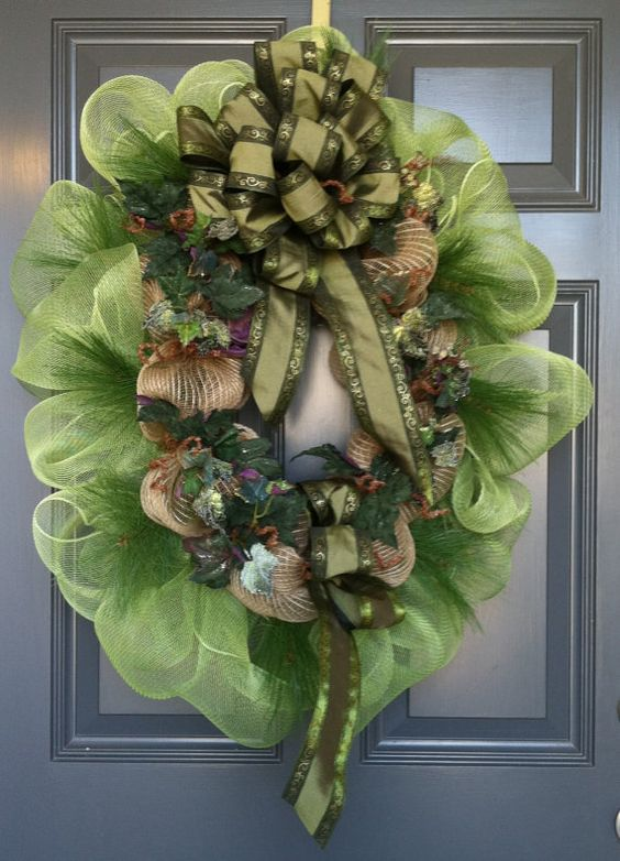 A wreath for all seasons by CindysSilks on Etsy, $58.00