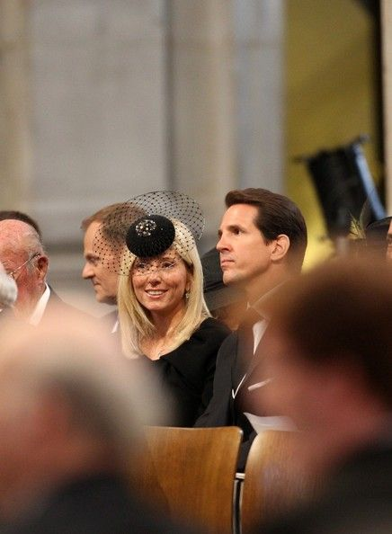 Prince Pavlos Marie Chantal Photos: Ceremonial Funeral Service for Margaret Thatcher 19