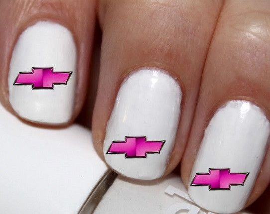 20 pc Chevy Logo Nail Art #cg0na39