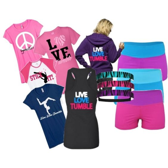 Know someone who enjoys gymnastics? This set is created for those who enjoy the sport! Many of these are customizable!