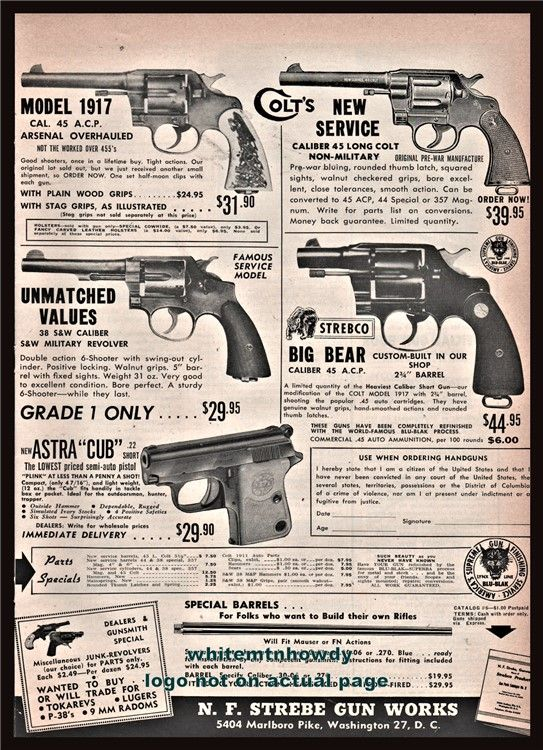 Pin On Colt Firearms Advertising Articles