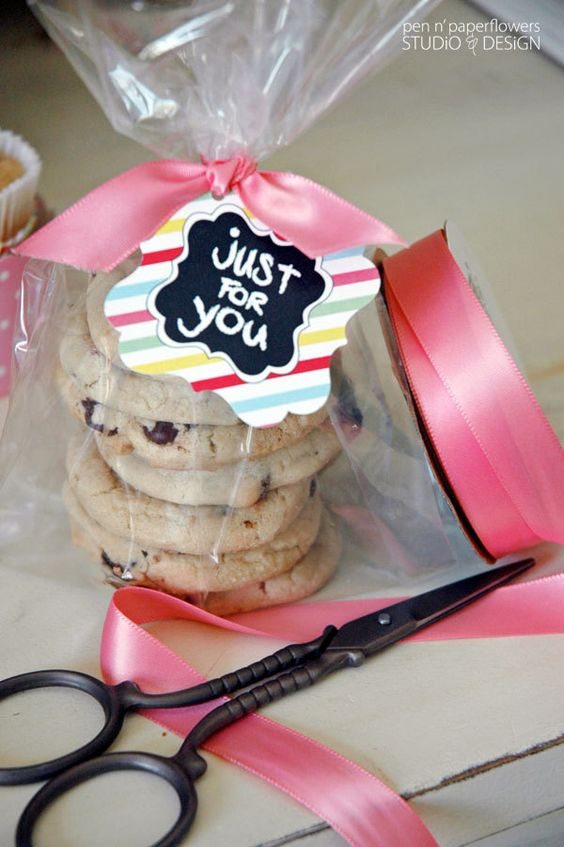 cookie bar at bridal showers baby showers or birthdays and even