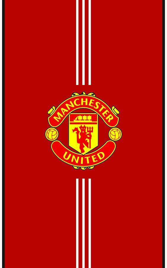 Manchester United 2017 2018 Home Red Android Wallpaper Manchester United Wallpaper Manchester United Logo Manchester United Wallpapers Iphone
