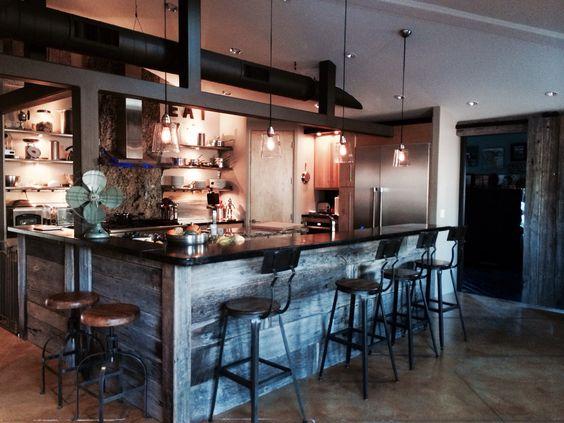Our kitchen - modern industrial chic   Decor   Pinterest ...