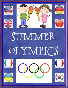 Help your class learn more about the Olympics.  The activities include:-  fact sheets on the Olympics and some of the sports-  writing pieces t...