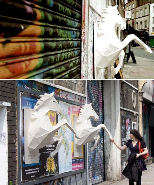 DRY THE RIVER 3D POSTER | Xavier Barrade #streetart #art