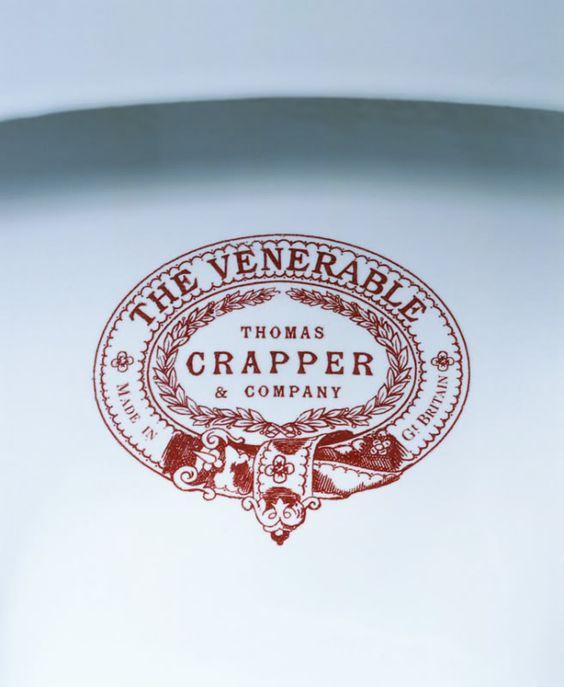Thomas Crapper manufacturer of the original water closet