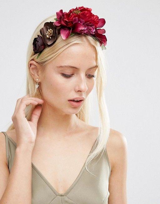 ASOS | ASOS WEDDING - Ghirlanda floreale per capelli