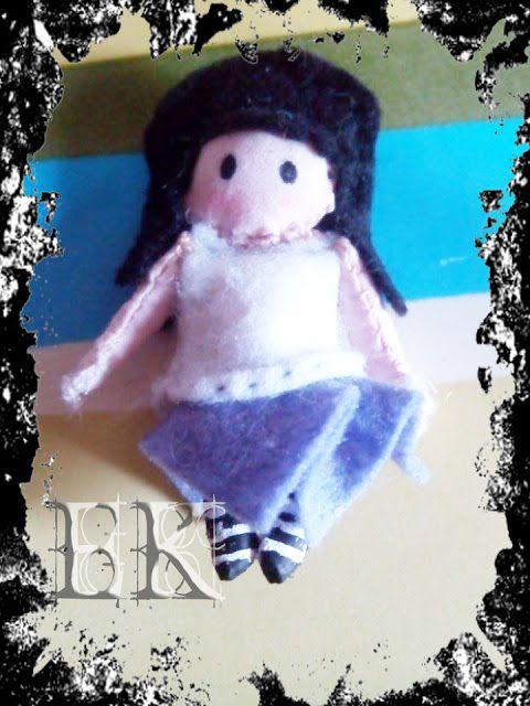 Muñeca de trapo tipo Gorjuss