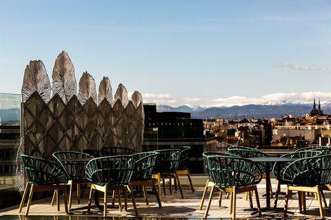 Estas Terrazas En Las Alturas De Madrid Tienen Unas Vistas