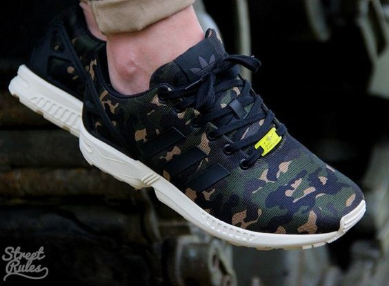 Adidas Flux Galaxy On Feet