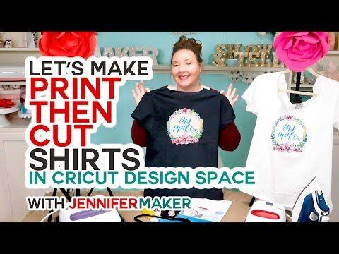 21++ Cricut print and cut iron on tutorial ideas in 2021