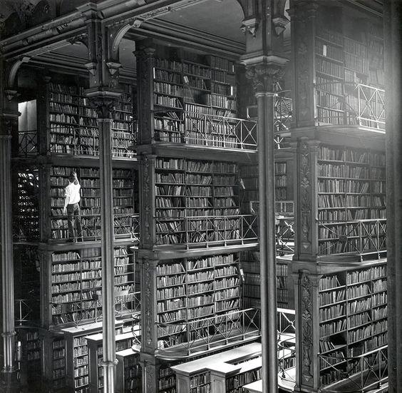 Antigua biblioteca pública de Cincinnati, Estados Unidos: