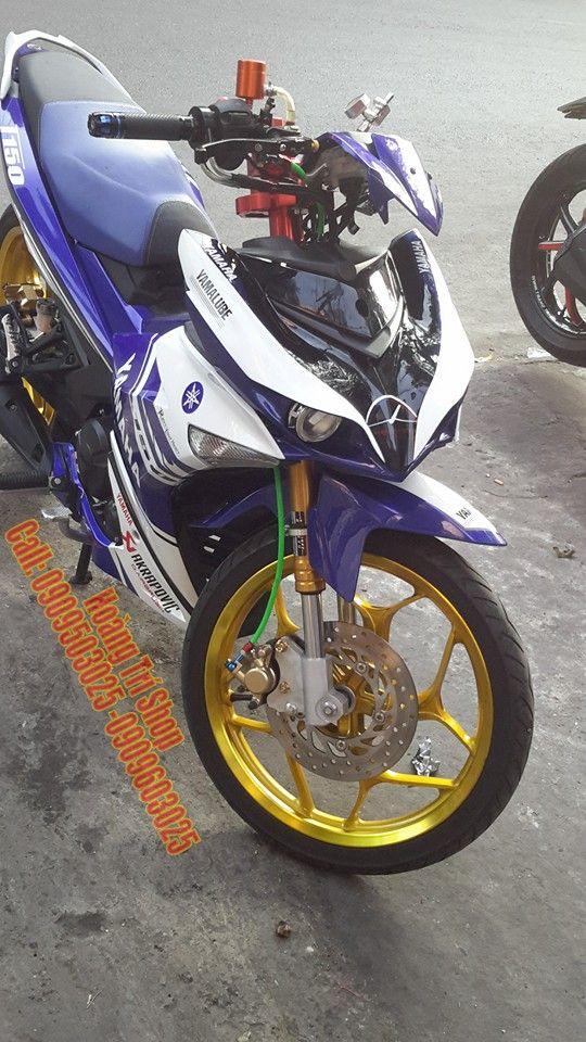 độ Exciter 150 Theo Y Tưởng Yamaha X1r Xe đẹp Ca Mập Y Tưởng