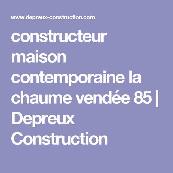 constructeur maison contemporaine la chaume vendée 85 Depreux - calcul de la surface habitable d une maison