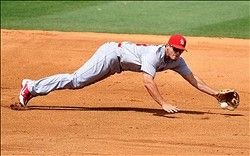 Freese makes a diving catch!   :)