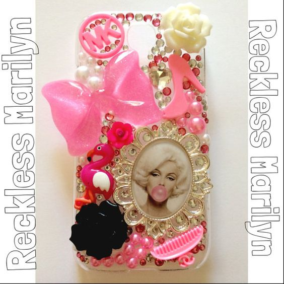 Reckless Marilyn for iPhone 4/4s/5/5s/5c & Samsung Galaxy S4/S5 on Etsy, $45.00