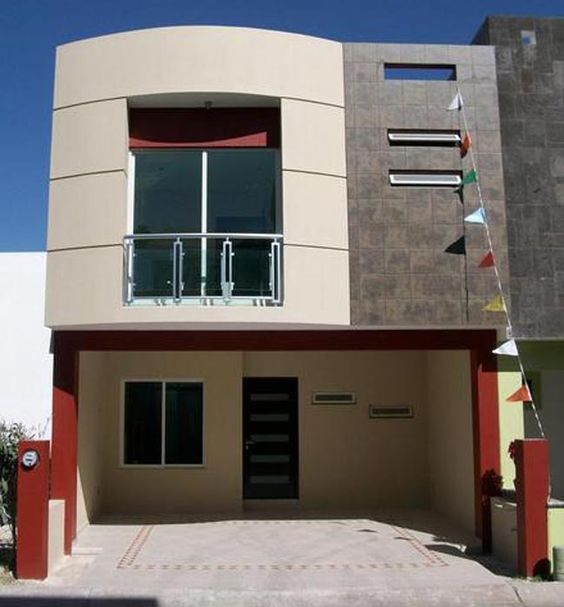 Fachadas de casas modernas mexicanas decoraci n para el for Fachadas de ventanas para casas modernas